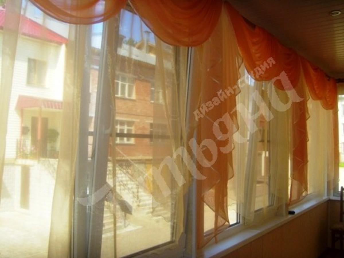 Идеи штор для балкона фото