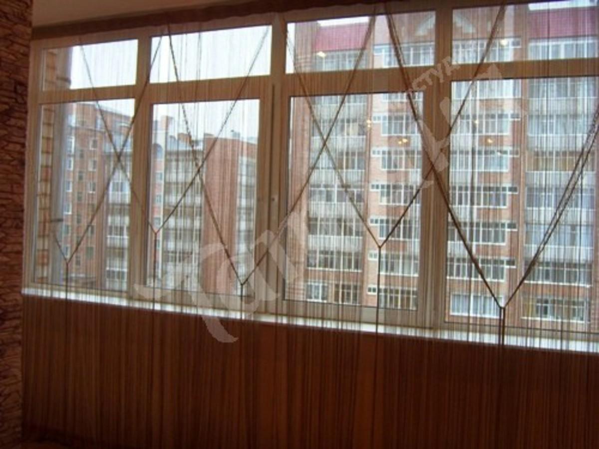 Кисея на балконе фото.